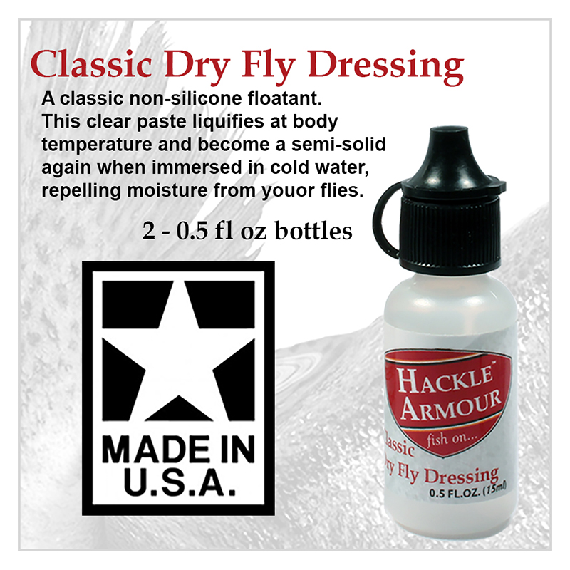 Hackle Armour Premium Silicone Fly Dressing